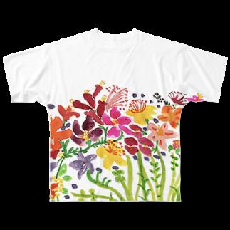 cocochiiLANDのohana Full graphic T-shirts