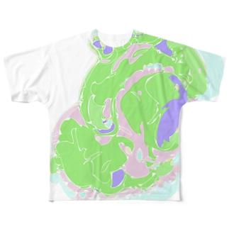 臓物ティー Full graphic T-shirts
