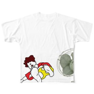 なつやすみ Full graphic T-shirts