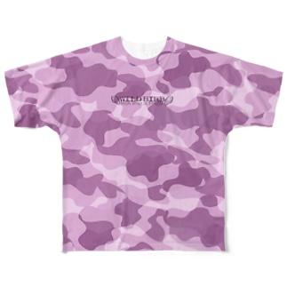 WILD BIRB Full graphic T-shirts