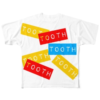 tooth Full graphic T-shirts