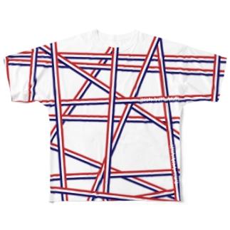 トリコロール Full graphic T-shirts