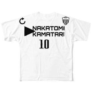 中臣鎌足 Full graphic T-shirts