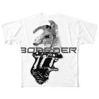 surf VS sk8er T-Shirits Full graphic T-shirts