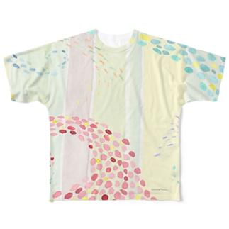 なみかぜ(珊瑚) Full graphic T-shirts