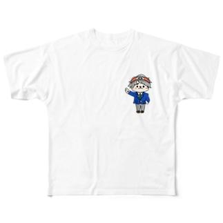 ボク、生徒会長! Full graphic T-shirts