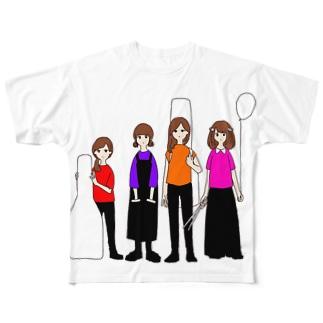 前座2019 Full graphic T-shirts