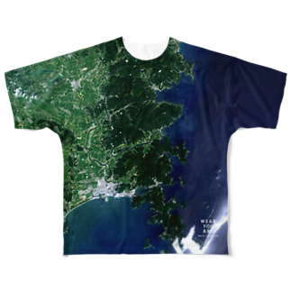 WEAR YOU AREの宮城県 石巻市 Tシャツ 両面 Full graphic T-shirts