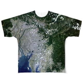 愛知県 尾張旭市 Tシャツ 両面 Full graphic T-shirts