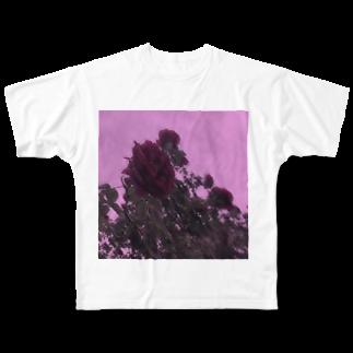 きのこるーむ。の散った想い出。 Full graphic T-shirts