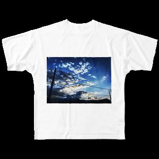 きのこるーむ。の夏だよ。 Full graphic T-shirts