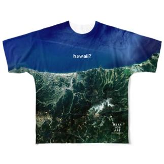 鳥取県 東伯郡 Tシャツ 両面 Full graphic T-shirts