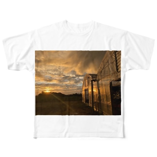 美味しい景色 Full graphic T-shirts