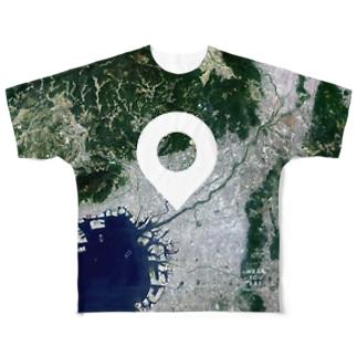 大阪府 大阪市 Tシャツ 両面 Full graphic T-shirts