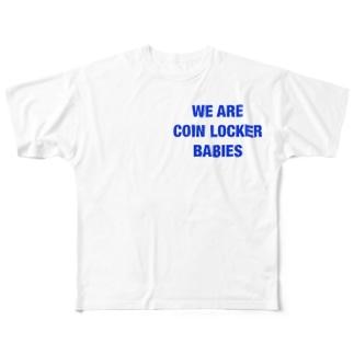 某地方都市Tシャツ Full graphic T-shirts