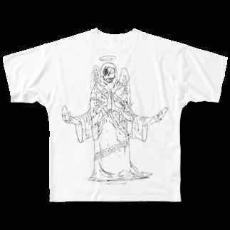 Ckira (シキラの禁忌 Full graphic T-shirts