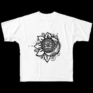 Konomi Masuda🌞好海の太陽と月 Full graphic T-shirts