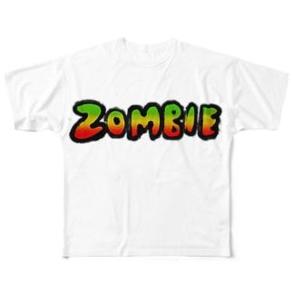 ZOMBIE フルグラフィックTシャツ