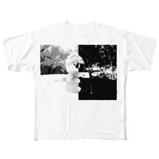 snow man フルグラフィックTシャツ