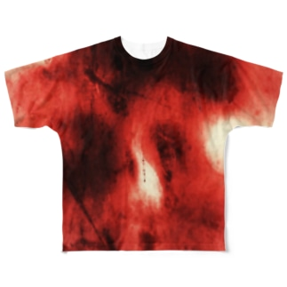血液 フルグラフィックTシャツ