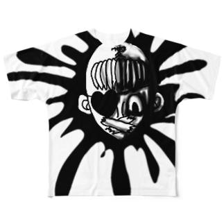 マゼラン愛竹 Full graphic T-shirts