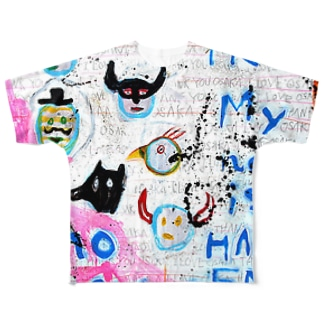 POP ART(HAPPY END) Full graphic T-shirts