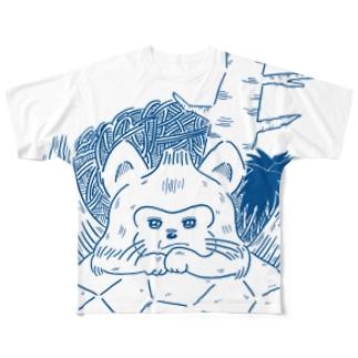 あおむろひろゆき×ハイエナズクラブ(その2) フルグラフィックTシャツ