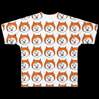 うめもと公式のすんげーババちゃんがいっぱい Full graphic T-shirts