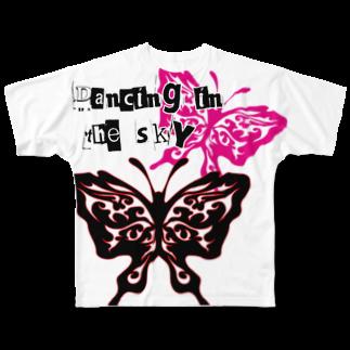 creavansの『Dancing in the sky』 Full graphic T-shirts