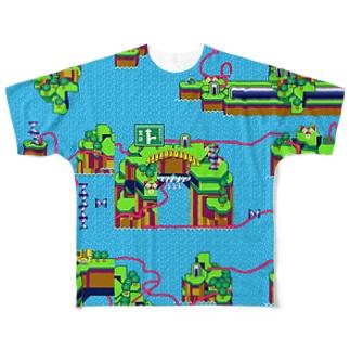 天道(表) フルグラフィックTシャツ