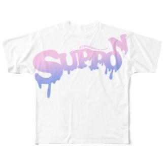 G-line ボンボン フルグラフィックTシャツ