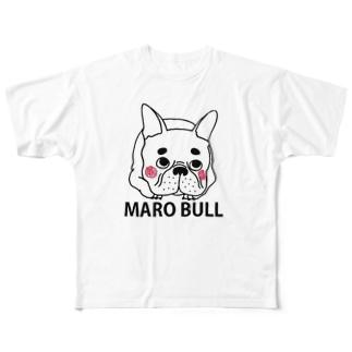 MAROBULL Full graphic T-shirts