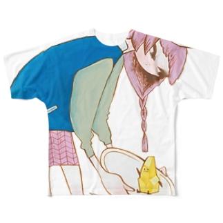 砂金くん Full graphic T-shirts