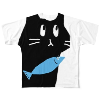 いむねこ Full graphic T-shirts