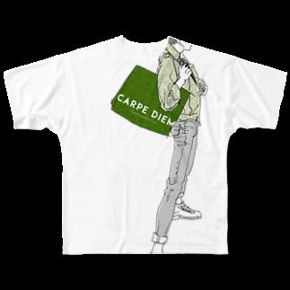 """中村香月の""""Green"""" いけめんファッショニスタ フルグラフィックTシャツ"""
