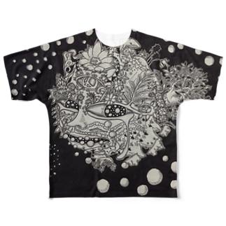 Tabibito フルグラフィックTシャツ