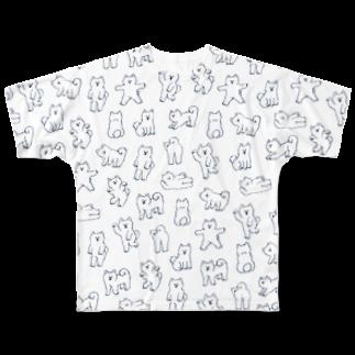 ヘロシナキャメラ売り場のいぬ フルグラフィックTシャツ