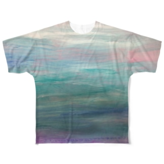 ゆらぎ Full graphic T-shirts