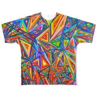 彩 Full graphic T-shirts