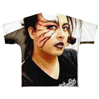 メタルかつのりくん Full graphic T-shirts