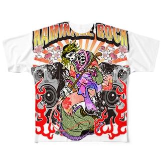 カミカゼロック!!!! Full graphic T-shirts