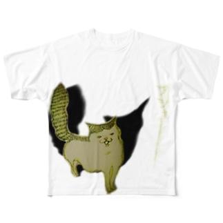 フシャーーーーー‼︎ Full graphic T-shirts