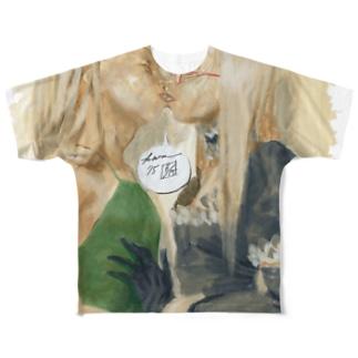 Twin Traps フルグラフィックTシャツ