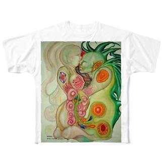 融合体 Full graphic T-shirts