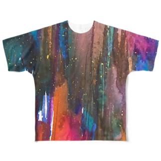 cosmic Full graphic T-shirts