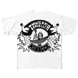 MUSIC TRAVELLER Full graphic T-shirts
