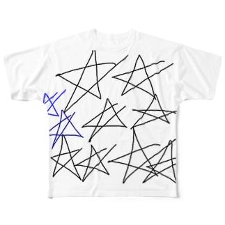 満天 星 Full graphic T-shirts