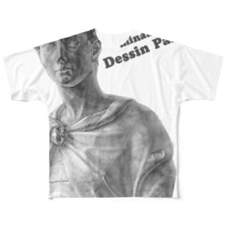 南のデッサン「ジョルジョ」 Full graphic T-shirts