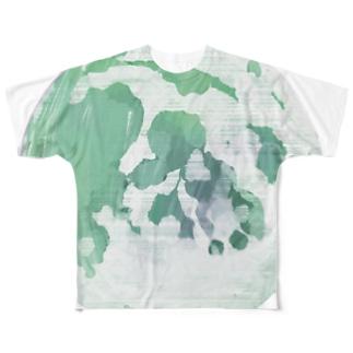 月のビックプリントグッズ フルグラフィックTシャツ
