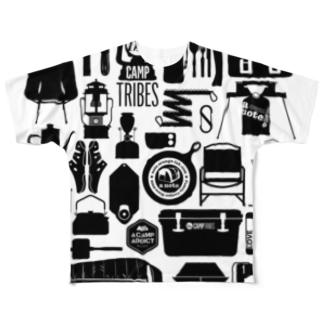 T12.Black フルグラフィックTシャツ